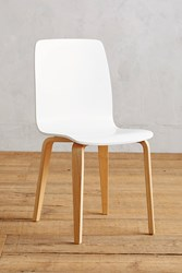 Anthropologie Tamsin Dining Chair White