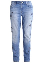 Mavi Jeans Uptown Andrea Relaxed Fit Light Indigo Fancy Light Blue Denim