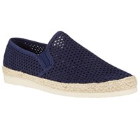 John Lewis Kin By Woven Canvas Espadrilles Navy
