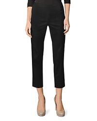 Lafayette 148 New York Stanton Cropped Pants Black