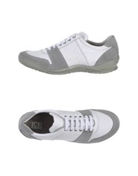 Ice Iceberg Low Tops And Trainers Grey