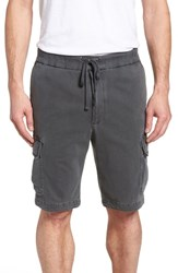 James Perse Heavy Jersey Cargo Shorts Coal Pigment