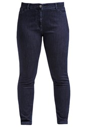 Persona By Marina Rinaldi Idem Slim Fit Jeans Blue Blue Denim
