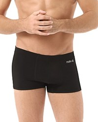 Naked Luxury Stretch Microfiber Trunks Black