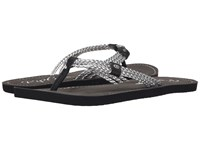 Rip Curl Ivy Silver Black Women's Sandals Gray