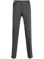 Berwich Plaid Tailored Trousers 60