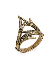 A.L.C. Double Antler Ring Gold