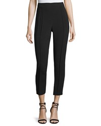 Andrew Gn Slim Crepe Ankle Pants Black Size 44
