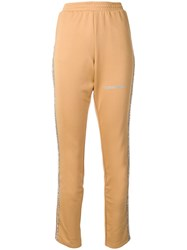 Each X Other Shimmer Detail Track Pants Neutrals