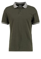 Burton Menswear London Polo Shirt Oliv