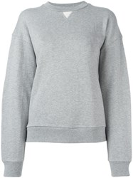 Alexander Wang T By Crew Neck Sweatshirt Grey