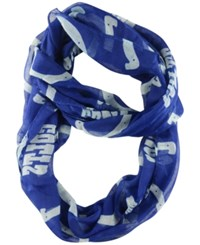 Little Earth Indianapolis Colts Sheer Infinity Scarf Blue