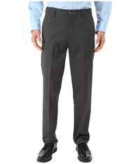 Dockers Signature Khaki D1 Slim Fit Flat Front Steelhead Stretch 2 Men's Dress Pants Black