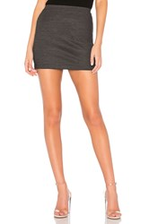 Bailey 44 Solyanka Striped Mini Skirt Black