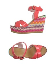 Fornarina Footwear Sandals Women Coral