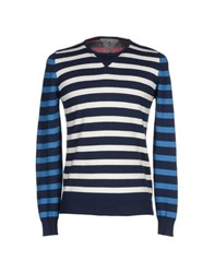Macchia J Knitwear Jumpers Men Dark Blue