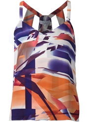 Parker 'Chagall' Printed Sleeveless Top Multicolour