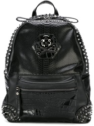 Philipp Plein 'London Grammar' Backpack Black