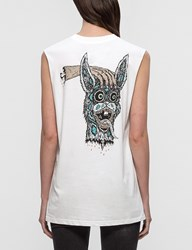 Mcq By Alexander Mcqueen 'Bring Me The Head Of Bunny' Tank