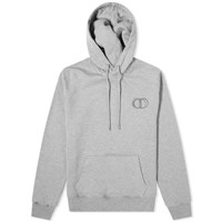 Christian Dior Cd Embroidered Popover Hoody Grey