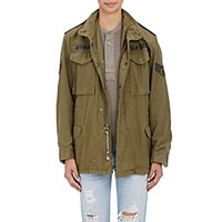 Icons Women's U.S. M 65 Field Jacket Dark Green
