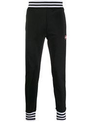 Colmar Striped Trim Track Pants Black