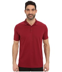 Nike Victory Solid Polo Team Maroon White Men's Short Sleeve Pullover Burgundy