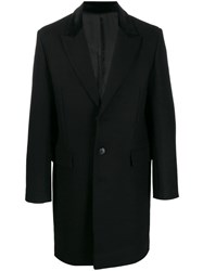 Zadig And Voltaire Single Breasted Coat Black