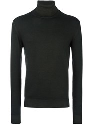 Etro Turtleneck Jumper Brown