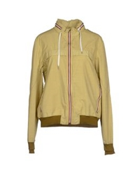 Gold Bunny Jackets Acid Green