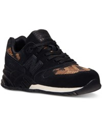 New Balance Women's 999 Plastic Weave Casual Sneakers From Finish Line Black Gold