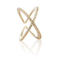 Astrid And Miyu Across The World Cocktail Ring In Gold