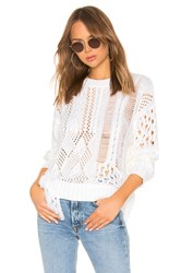 360Cashmere Tenley Sweater Ivory