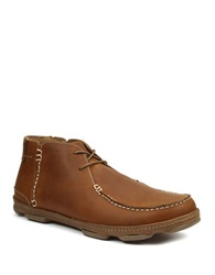 Gbx App Leather Boots Tan