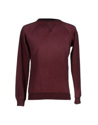 People Topwear Sweatshirts Men Deep Purple