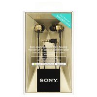 Sony Mdr Ex650 In Ear Headphones With Mic Remote Brass