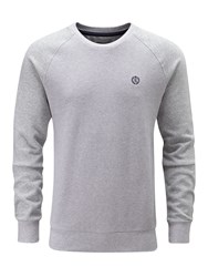 Henri Lloyd Men's Mackney Crew Sweat Grey Marl