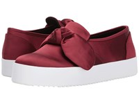Rebecca Minkoff Stacey Sneaker Cranberry Slip On Shoes Red