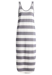 The Fifth Label Chelsea Maxi Dress Natural Navy Dark Blue