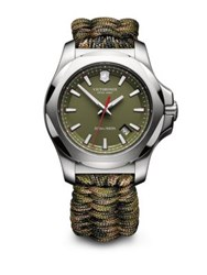 Victorinox I.N.O.X. Green Paracord Strap Watch