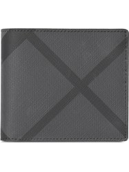 Burberry London Check Id Wallet Grey