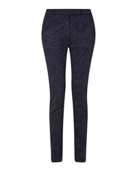 East Jacquard Trouser Jet Black