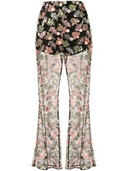 Alice Mccall Floral Print Trousers 60