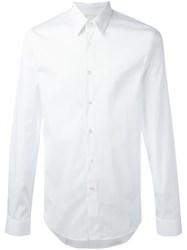 Jil Sander Long Sleeve Shirt White
