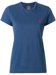 Polo Ralph Lauren Chest Logo T Shirt Blue