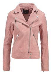 Dorothy Perkins Leather Jacket Pink Rose