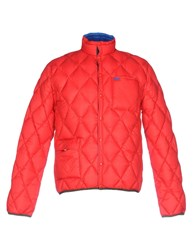 Sun 68 Down Jackets Red
