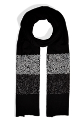 Dkny Merino Sequined Stripe Scarf