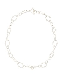 Judith Ripka Contempo Oval Link Chain Necklace