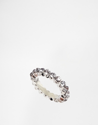 Cheap Monday Bead Ring Silver